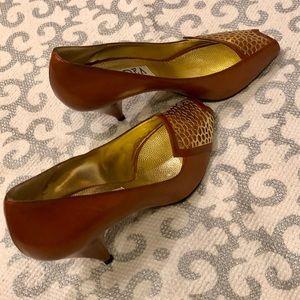L'IDEA di MONTEVIDONI Italian Made Leather Heel.